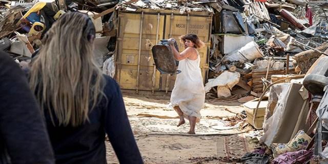 Jadis corriendo The Walking Dead El Palomitrón