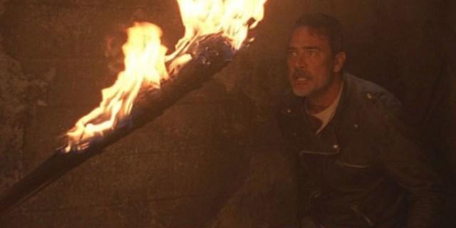 Lucille está que arde The Walking Dead El Palomitrón
