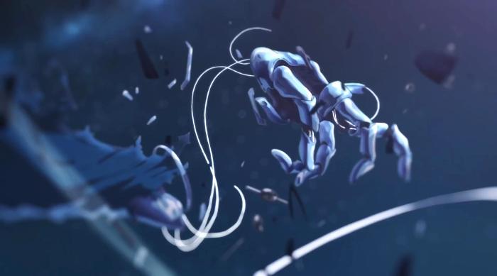 Crítica de Violet Evergarden brazos - el palomitron