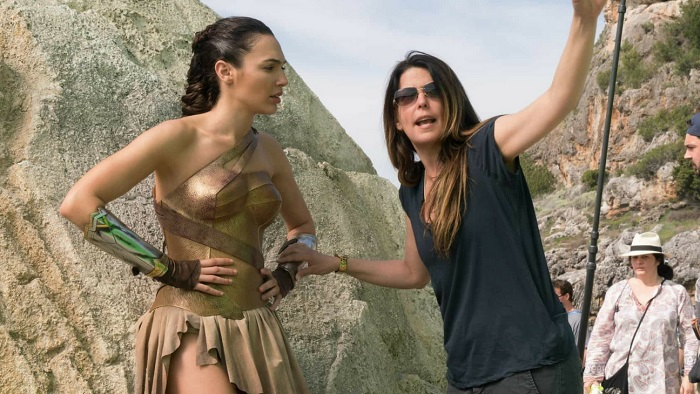Patty Jenkins and Gal Gadot - El Palomitrón