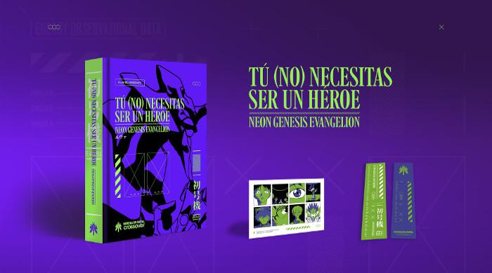 Sorteo Tú (no) necesitas ser un héroe Neon Genesis Evangelion libro - el palomitron