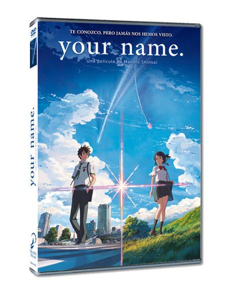 Sorteo de merchandising Fireworks (taza + camiseta) + DVD Your Name pack2 - el palomitron