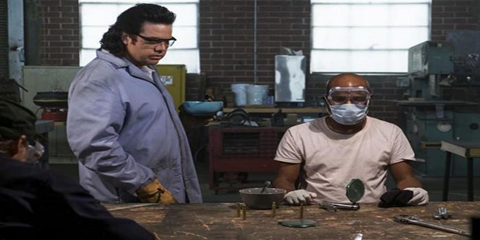Eugene y Gabriel The Walking Dead El Palomitrón