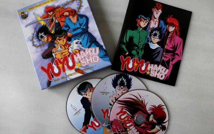 Yu Yu Hakusho Box 1, de Selecta Visión edicion completa - el palomitron