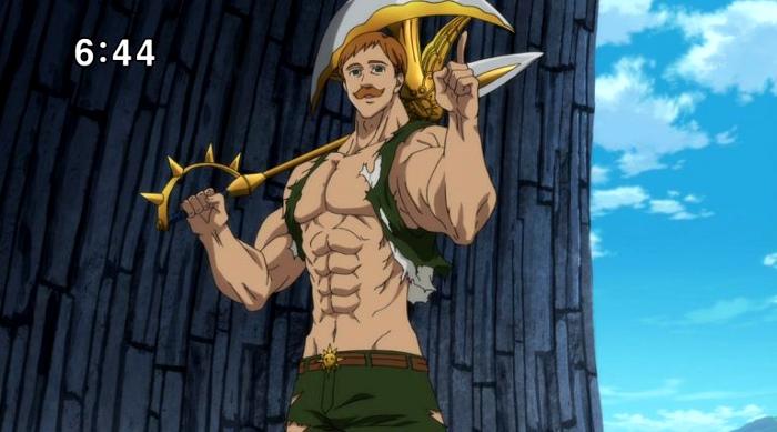 Crítica de Nanatsu no Taizai segunda temporada capítulos 11-15 Escanor - el palomitron
