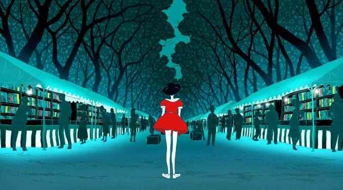 Crítica de Night is Short, Walk on Girl principal - el palomitron