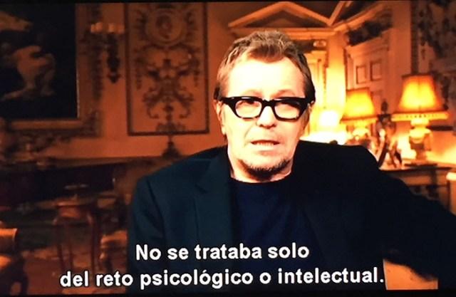 El instante más oscuro - Gary Oldman- El Palomitrón