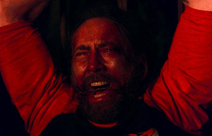 Mandy nicolas cage movie pelicula cannes 2018 critica analisis escena el palomitron
