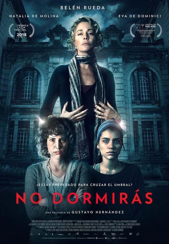 No dormirás- Poster - El Palomitron