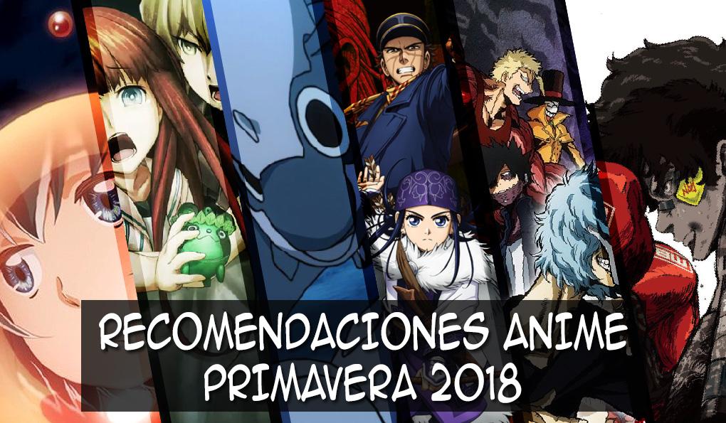 Recomendaciones anime primavera 2018 destacada - el palomitron