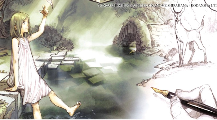 Tongari Bôshi no Atelier entre las nuevas licencias de Milky Way Ediciones de 2018 licencia 2 - el palomitron
