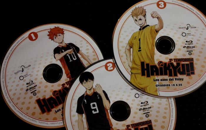 edición Blu-ray de la 2ª temporada de Haikyu!!, de Selecta Visión galeria 3 - el palomitron