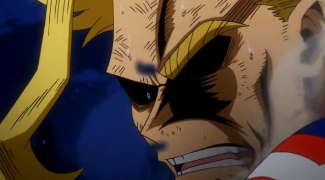 Crítica de Boku no Hero Academia 3x10 All Might 2 - el palomitron