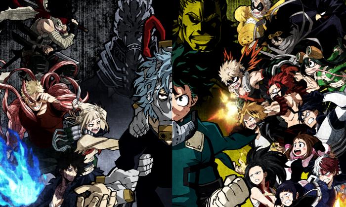 Personajes de My Hero Academia One's Justice plantel - el palomitron