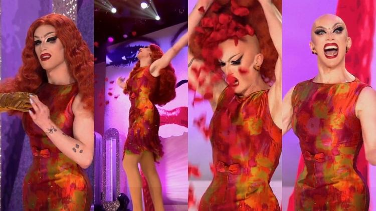 Pose Sasha Velour - El Palomitron