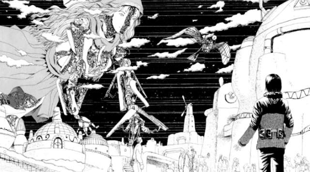Reseña de La música de Marie, de Usamaru Furuya Marie Kai 2 - el palomitron
