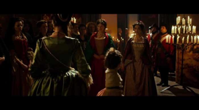 Cambio de reinas-Escena- El Palomitron