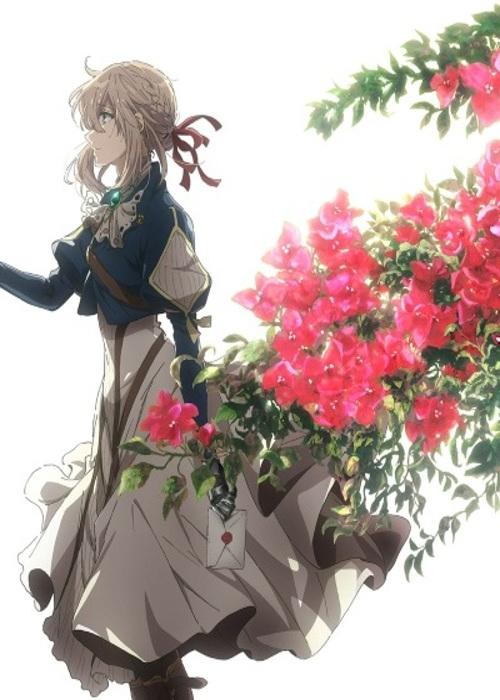 Fecha de estreno y tráiler de la película de Violet Evergarden poster 2 - El Palomitrón