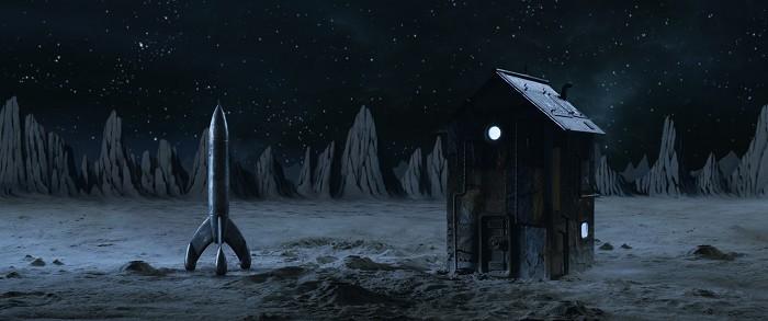En las estrellas luna - El palomitron