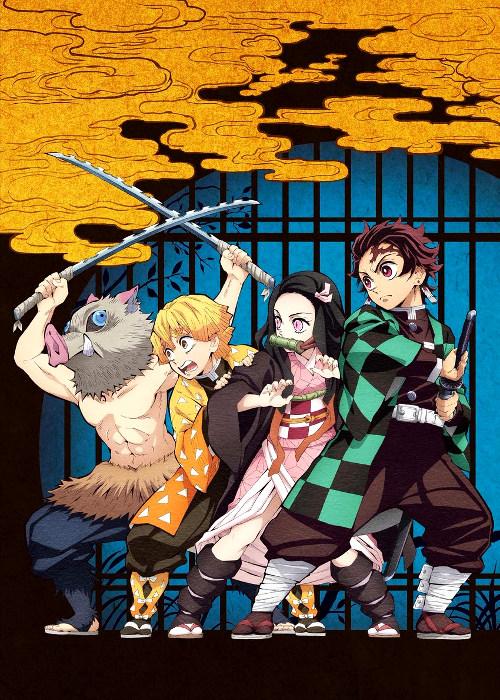 Fecha de estreno y tráiler del anime Kimetsu no Yaiba imagen promocional - El Palomitrón