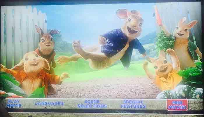 Peter Rabbit- Extras- El Palomitron
