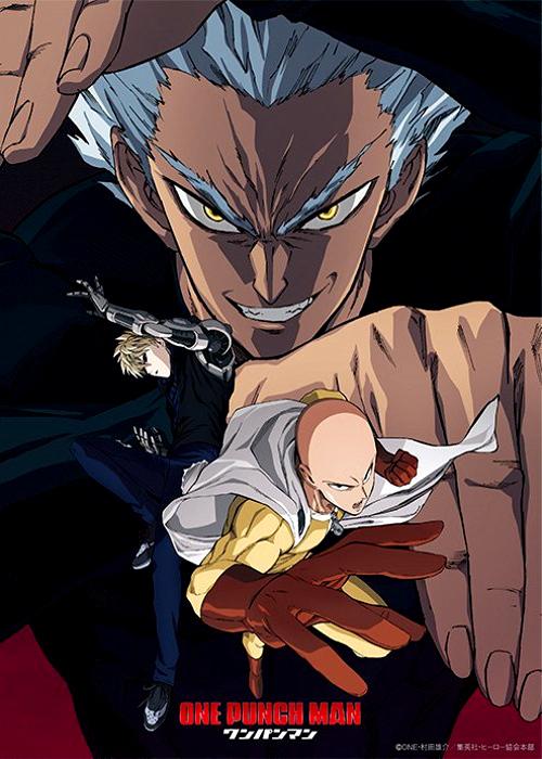fecha de estreno de la segunda temporada de One Punch Man cartel promocional - el palomitron