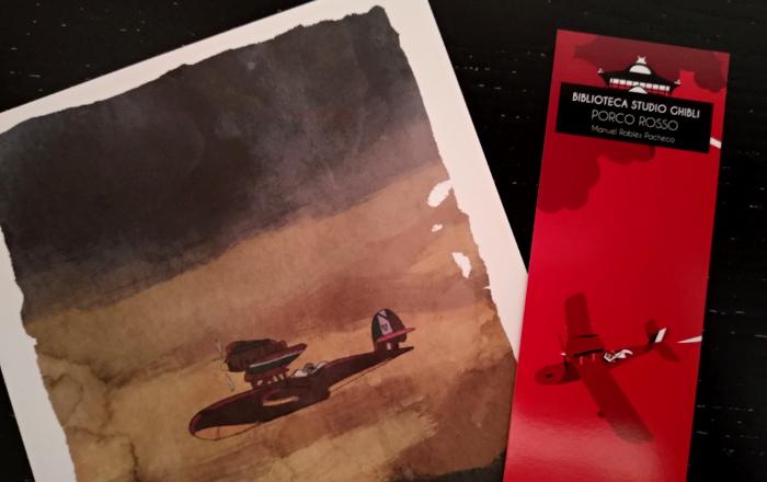 'Biblioteca Studio Ghibli Porco Rosso', de Manu Robles Galería 2 - El Palomitrón