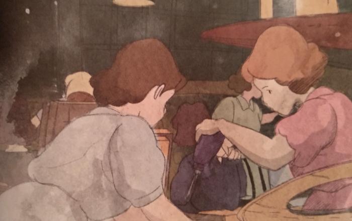 'Biblioteca Studio Ghibli Porco Rosso', de Manu Robles Galería 7 - El Palomitrón