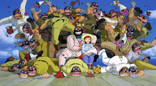 'Biblioteca Studio Ghibli Porco Rosso', de Manu Robles Mamma Auto - El Palomitrón