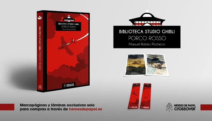 'Biblioteca Studio Ghibli Porco Rosso', de Manu Robles principal - El Palomitrón