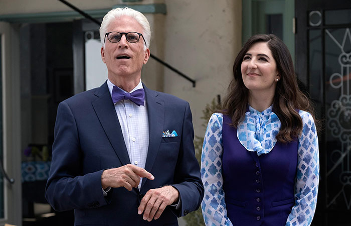 THE GOOD PLACE TEMPORADA 1 JANET Y MICHAEL - EL PALOMITRÓN
