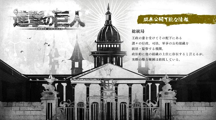 la política en Shingeki no Kyojin estado - El Palomitrón