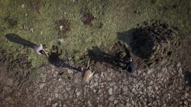 Desenterrando Sad Hill-Cementerio- El Palomitrón