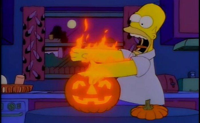 Especial Halloween Los Simpson parte4 – El Palomitrón