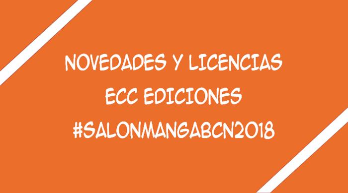 licencias de ECC Ediciones XXIV Salón del Manga de Barcelona - El Palomitrón