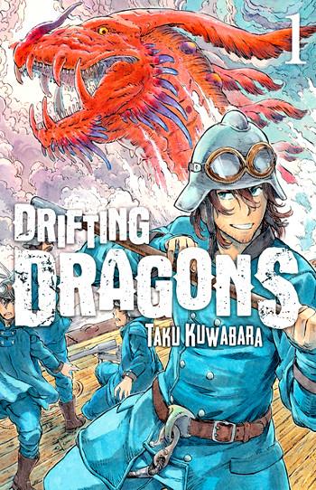 Drifting Dragons #1, de Taku Kuwabara portada - el palomitron