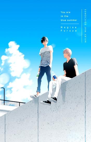 You Are in the Blue Summer, de Nagisa Furuya portada - El Palomitrón