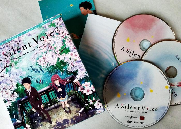 edición coleccionista de A Silent Voice Galería 1 - El Palomitrón