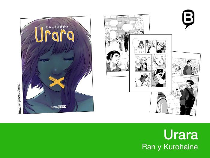 licencias Letrablanka XXIV Salón del Manga de Barcelona Urara - el palomitron