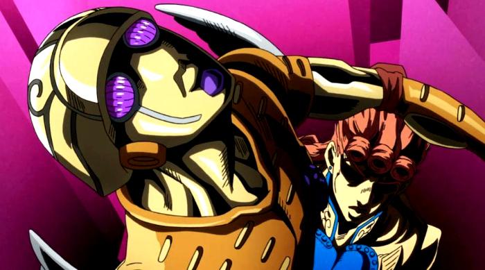 recomendaciones anime otoño 2018 JoJos Bizarre Adventure Golden Wind - el palomitron