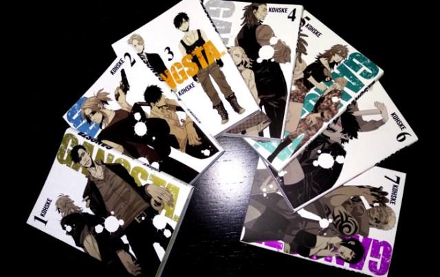 scanlations en la industria del manga Gangsta manga - el palomitron