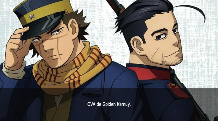 Guía de anime invierno 2019 Golden Kamuy 2nd Season OVA - El Palomitrón