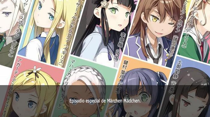 Guía de anime invierno 2019 Märchen Mädchen Specials - El Palomitrón