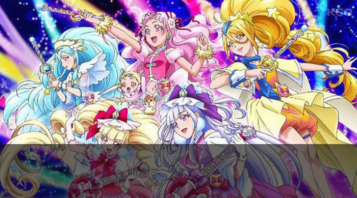 Guía de anime invierno 2019 Star Twinkle Precure - El Palomitrón