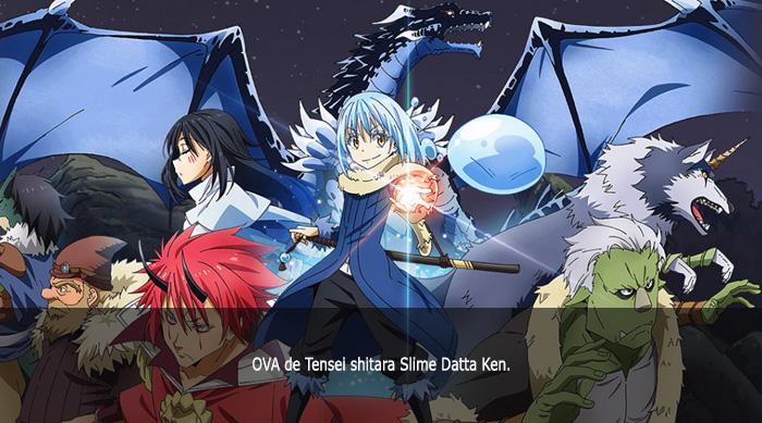 Guía de anime invierno 2019 Tensei shitara Slime Datta Ken OVA - El Palomitrón