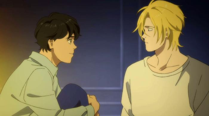 La relación de amor entre los protagonistas de Banana Fish Ash Eiji 2 - el palomitron