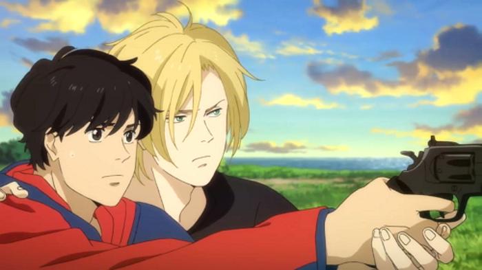 La relación de amor entre los protagonistas de Banana Fish Ash Eiji - el palomitron