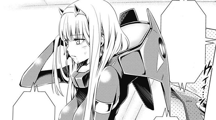 manga de Darling in the FRANXX