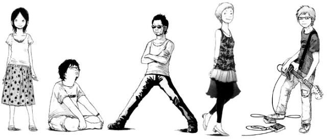 Reseña de Solanin, de Inio Asano personajes - El Palomitrón