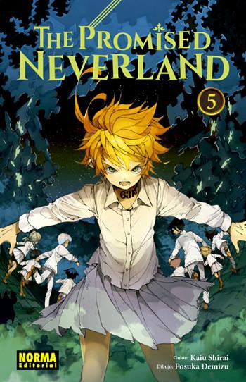 Reseña de The Promised Neverland #5 portada - El Palomitrón